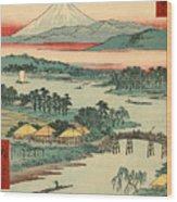 Kawasaki Wood Print