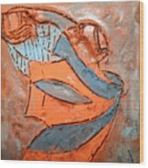 Kaweeke - Tile Wood Print