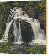 Kawishiwi Falls Wood Print