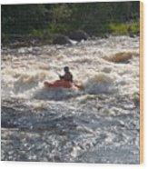 Kayak 1 Wood Print