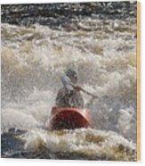 Kayak 5 Wood Print