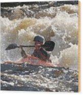 Kayak 6 Wood Print