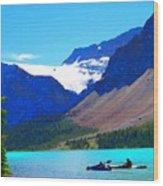 Kayak Heaven Wood Print