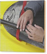 Kayakeer Hands Wood Print