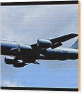 Kc-135r Stratotanker Poster Wood Print