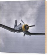 Kd 345 Corsair Iv Wood Print