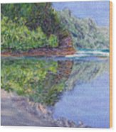 Ke' E Beach In May Wood Print