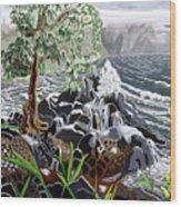 Keanae Wood Print