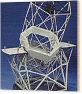 Keck Observatorys Ten Meter Telescope Wood Print
