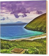 Keem Bay - Ireland Wood Print