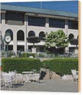 Keeneland Racetrack Grandstand Wood Print