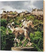 Keeper Of The Castle 2 Wood Print