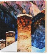 Keeper Of The Light Adishi Svaneti Wood Print
