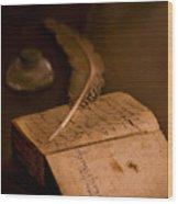 Keepers Journal Wood Print