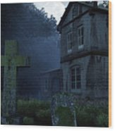Keepers Of The Manor  Wood Print