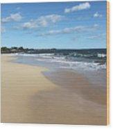 Kekaha Beach Wood Print