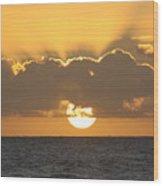 Kekaha Sunset Wood Print