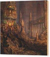 Keldon Megolith Wood Print