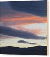 Kelowna Sunset 2 Wood Print
