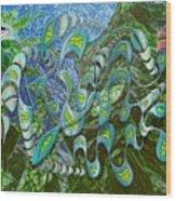 Kelp Dragon Wood Print