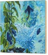 Kelp Tank, Monterey Bay Aquarium Wood Print