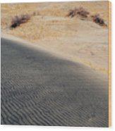 Kelso Dunes Portrait Wood Print