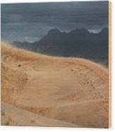 Kelso Dunes Shifting Sands Wood Print