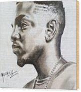 Kendrick Lamar Wood Print