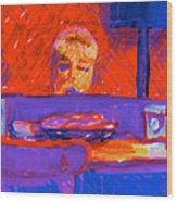 Kennebunkport Inn Piano Singer Wood Print