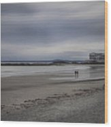 Kennebunkport Maine And Colonial Hotel Wood Print