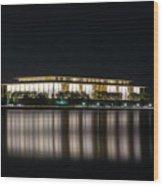 Kennedy Center Wood Print