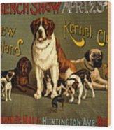 Kennel Club Wood Print
