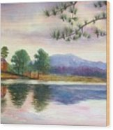 Kennesaw Mt. Wood Print