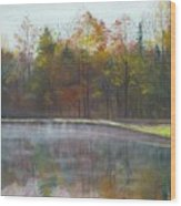 Kennison Pond  Wood Print