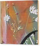 Kensington Market Floral Detail Wood Print