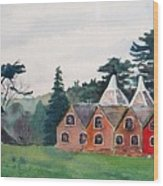 Kent Country Houses Wood Print