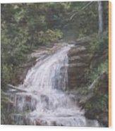 Kent Falls Wood Print by Jack Skinner