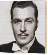 Kent Taylor, Vintage Actor Wood Print