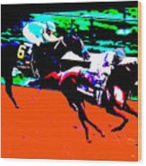 Kentucky Derby Wood Print