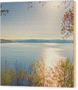 Kentucky Lake Wood Print