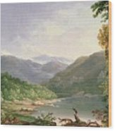 Kentucky River Wood Print