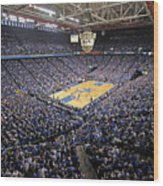 Kentucky Wildcats Rupp Arena Wood Print