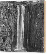 Kenya: Thomsons Falls Wood Print