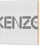 Kenzo Paris Wood Print