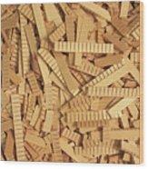 Kerfing Ends Wood Print
