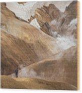 Kerlingafjoll Mountain Wood Print