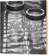 Kerr Jars Wood Print