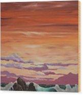 Kerry Sunset Wood Print