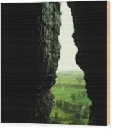 Kesh Caves Co Sligo Ireland Wood Print