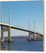 Kessock Bridge Inverness 2 Wood Print